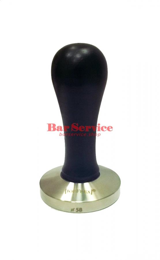 Темпер JoeFrex D58 Elegance черный выпуклый сталь в Тюмени