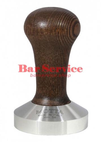 Темпер Мотта 58 мм. (выпуклый) с деревянной ручкой в Тюмени