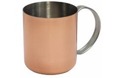 Кружка для коктейля с медным покрытием 450мл