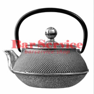 Чайник с ситечком; чугун; 650 мл; D=8.7,H=9.4,L=14.5; черный в Тюмени